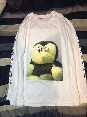 102a2d7d7ee9 Supreme/Mike Kelley Ahh Youth L/S Longsleeve Tee White M FW18 Bogo  Undercover