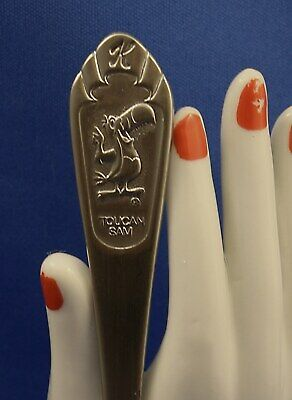 Vintage 1983 NOS Kellogg's Toucan Sam National Stainless Steel Cereal Spoon