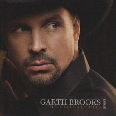 Garth Brooks ‎The Ultimate Hits 2 x CD + DVD Greatest Very Best Of Country