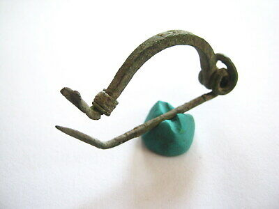 Ancient Celtic Bronze Brooch Fibula ca.450-100 BC - Intact
