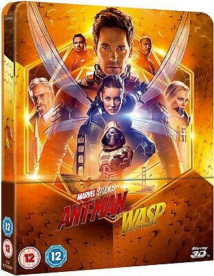 Ant Man And The Wasp (Bluray 3D) Lenticular Limited Edition Steelbook PRE ORDER