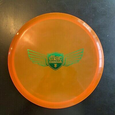 USED (Barely) Discmania C-Line MD3 180g Orange w/ Wings Stamp Golf Disc