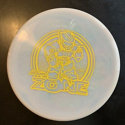 USED Discraft Swirly ESP Zone LES WHITE ART 174g