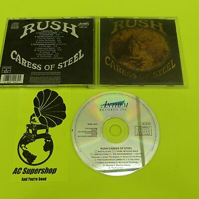 RUSH caress of steel - CD Compact Disc