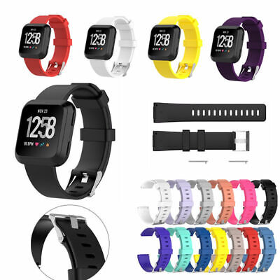 US Sports Silicone Watch Band Wrist Strap Bracelet For Fitbit Versa Versa Lite u