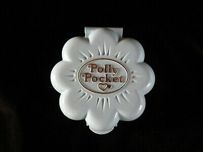 Vintage Polly Pocket compact/1990/Midge's Flower Shop/Bluebird