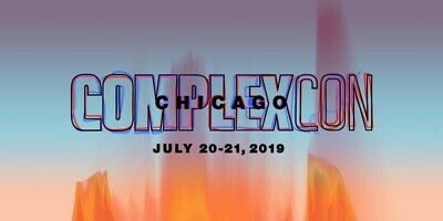 Vip Complexcon Chicago 2019 2-Day Full Vip Experience **In Hand** Retail $750