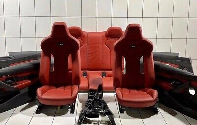 Bmw F30 M3 Red Seats With Door Card And Centre Console