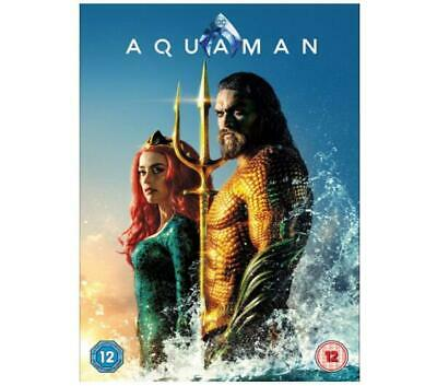 Aquaman DVD - Region 2 - Brand New - Sealed Fast & Free Delivery
