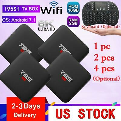 LOT T95S1 SMART Android7 1 TV Box Amlogic S905W Quadcore