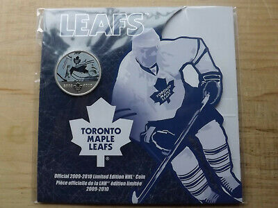 TORONTO MAPLE LEAF 2009-2010 Limited Edition 50 Cents NHL Coin