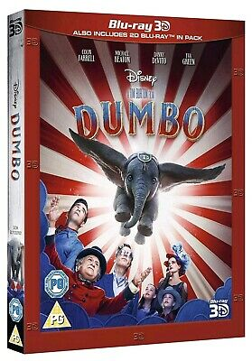 Dumbo (Bluray 3D) Includes 2D Bluray