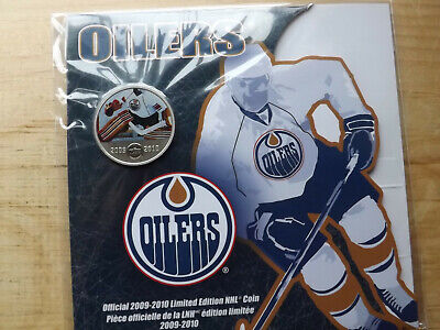 EDMONTON OILERS 2009-2010 Limited Edition 50 Cents NHL Coin