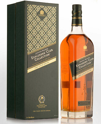 Johnnie Walker Explorers Club Collection The Gold Route Blended Scotch Whisky...