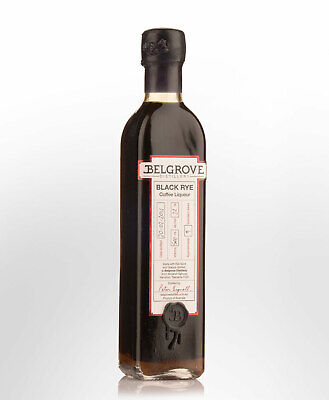 Belgrove Distillery Black Rye Coffee Liqueur (500ml)