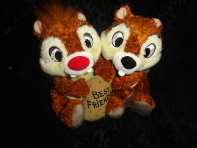 NEW Disney Parks Chip and Dale Best Friends Plush - World Land  - FREE SHIPPING
