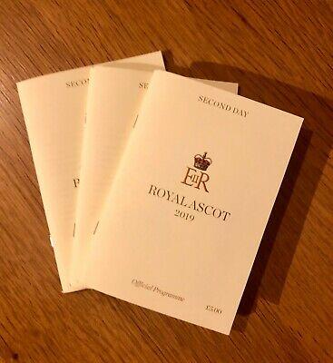 Second Day Royal Ascot 2019 Official Programme