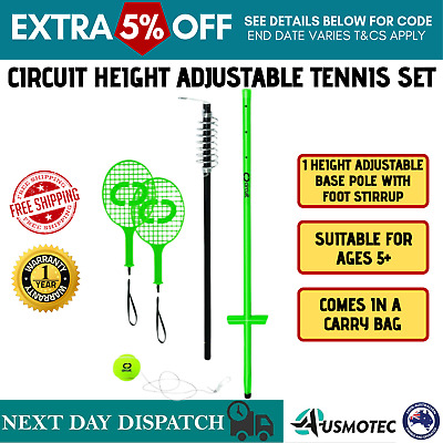 Totem Adjustable Tennis Set Sports Game Kids Adults Outdoor Beach Picnic Camping