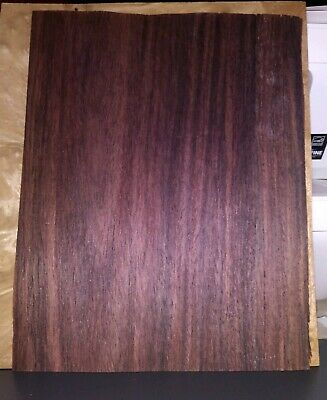 "1 piece East Indian rosewood veneer 10 1/4 x 8 1/8"" wood 1/42"" luthier"