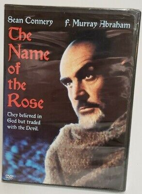 The Name of the Rose (DVD, 2004) NEW & SEALED