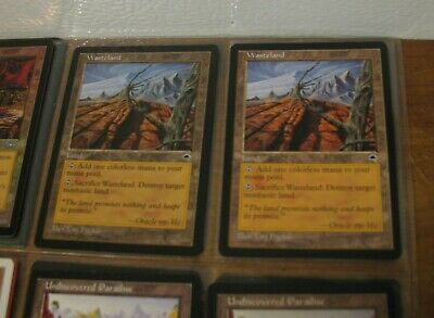 Wasteland Strip Mine City of Brass Crosis's Catacombs FOIL MTG Magic Cards NM