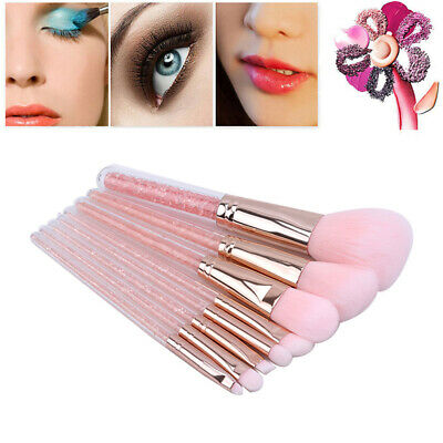 8Pcs Soft Eyeshadow Makeup Brushes Set Pro Eye Shadow Blending Make Up Brush SW