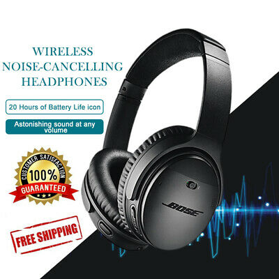 Bose QuietComfort 35 II Noise Cancelling Over Head Headsets Headphone 4 Colors