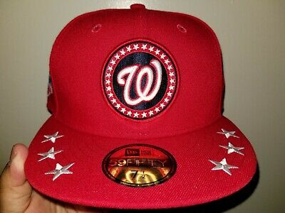 bb8c9f94 2018 New Era 59Fifty Washington Nationals Mlb All Star Workout Cap Hat 7 1/2