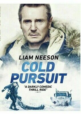 COLD PURSUIT LIAM NEESON (DVD 2019) only