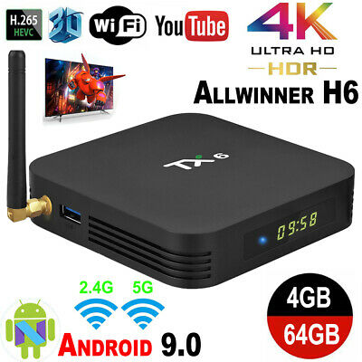 TV, Video & Home Audio TX6 4GB+64GB Smart TV BOX Android 9 0