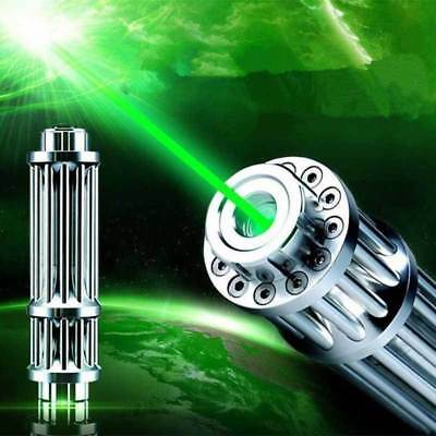 Powerful Green Laser Pointer Pen Visible Beam Light 1mW Lazer High Power 532n AU