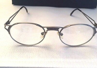 Vintage Jh30 Classic Antique Pewter Jh Collectible 50 Matsuda Style Eyeglass