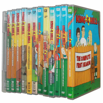 KING OF THE HILL The Complete Series Collection on DVD Seasons 1-13 - (37 Discs)