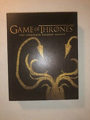Game Of Thrones - Season 2 Blu-ray - Best Buy Sigil Slipcover Greyjoy - OOP