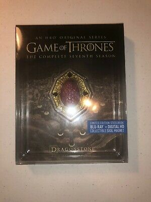 Game of Thrones Season 7 STEELBOOK (Red Dragonstone) (Blu-ray)