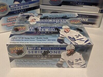 2017-18 Upper Deck Series One Hockey - Pack Fresh Base Cards - 1-200