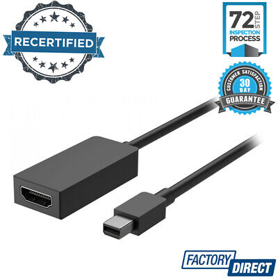 Microsoft Surface Mini Displayport To Hdmi 2.0 Adapter Cord Laptop Accessories