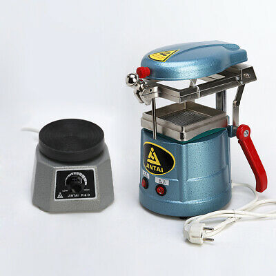 Thermoforming Dentaire Vacuum Forming Molding Machine Lab + Round Shaker 220V