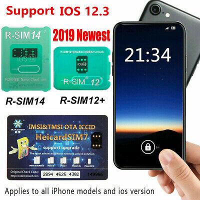 RSIM-14 RSIM 12+ Heicard Nano SIM Unlock Card For iPhone XS Max XR X