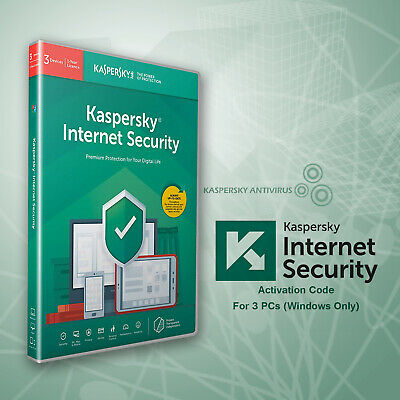KASPERSKY INTERNET SECURITY 2019 - 3 PCs - Global Keys - [360 Days]