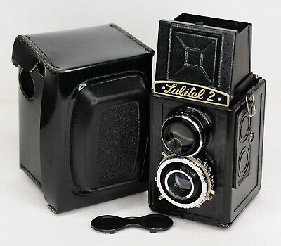 Lomo Lubitel-2 Medium Format TLR Camera 6x6 120 Lomography (2850BL)