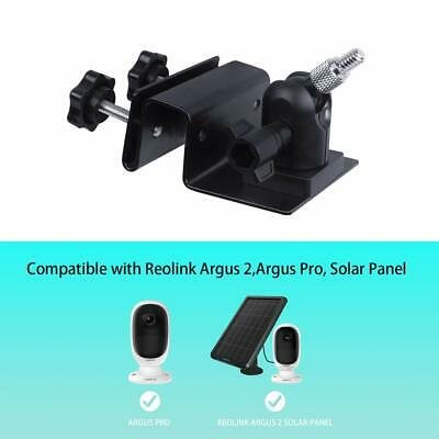 Holaca Gutter Mount Compatible Solar Panels for Arlo Pro/ Reolink Argus 2