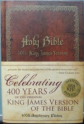 Holy Bible 1611 King James Version - 400th Anniversary Edition Zondervan Bibles