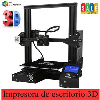 Upgraded Version Creality 3D Ender 3 Impresora 3D Aluminum DIY ,PLA,TPU,ABS KIT