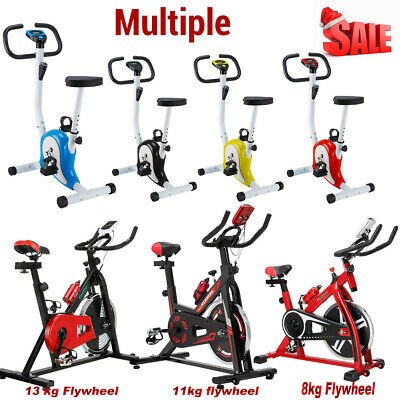 Exercise Spin Bike Home Gym Bicycle Cycling Cardio Fitness Workout Training UK