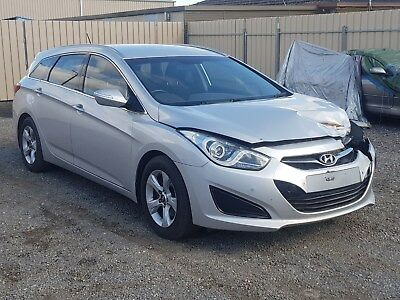 2013 Hyundai I40 Active Vf2 Wagon 1.7L Turbo Diesel Automatic Damaged Repairable