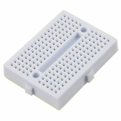 5pcs White 170 Tie-points Mini Solderless Prototype Breadboard for Arduino L4G4