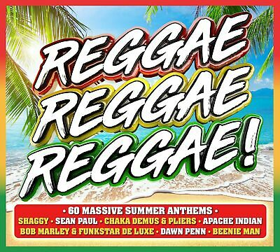 REGGAE REGGAE REGGAE 3-CD ALBUM SET (New Release June 21st 2019)