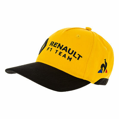 2019 Renault F1 Team Kids Childrens Junior Cap YELLOW Official Formula 1 Team