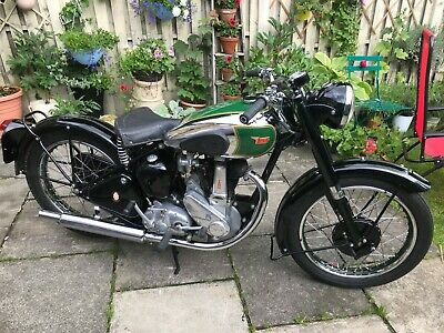 SUPERB 1951 RIGID  BSA B31  £1000s SPENT  - FACTORY MATCHING NUMBERS